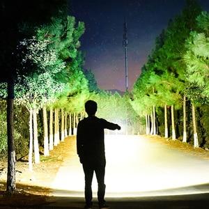 Image 5 - 5 Chế Độ Siêu Sáng Đèn Pin Led Siêu Sáng Zoom XML T6/L2 Sáng Chống Nước Cảnh Sát Đèn Pin 18650 Đèn Pin Đèn