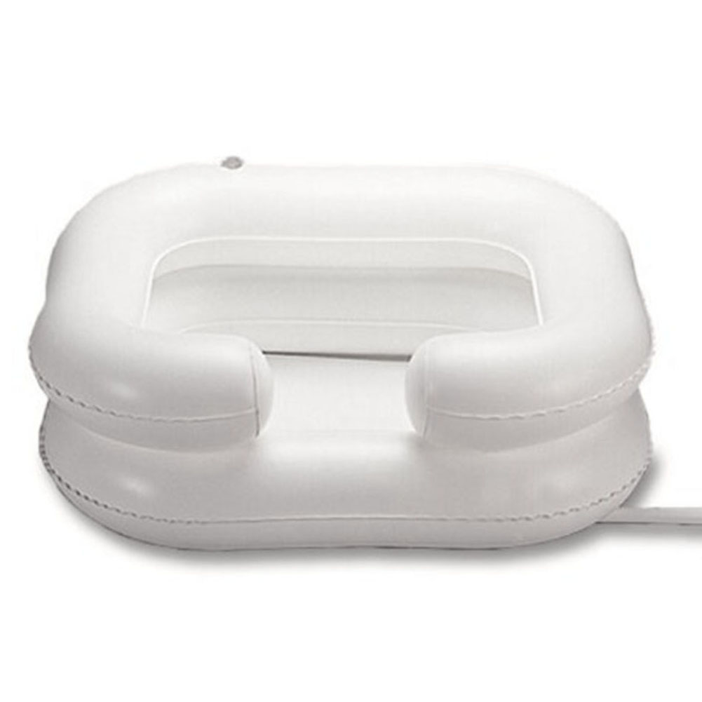 Deluxe Inflatable Hair Washing Basin, Shampoo And Conditioner Basin, Wash Hair In Bed, For Injured, Elderly, Bed-Bound, Bedridde