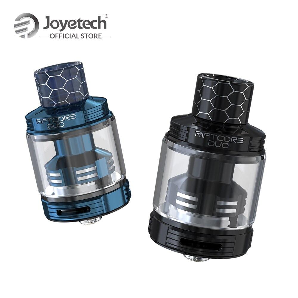 100% Original Joyetech RIFTCORE DUO Atomiseur Avec 3.5 ml Capacité Réservoir Bobine-moins Par Auto-nettoyage Système Coilless E Cigarette