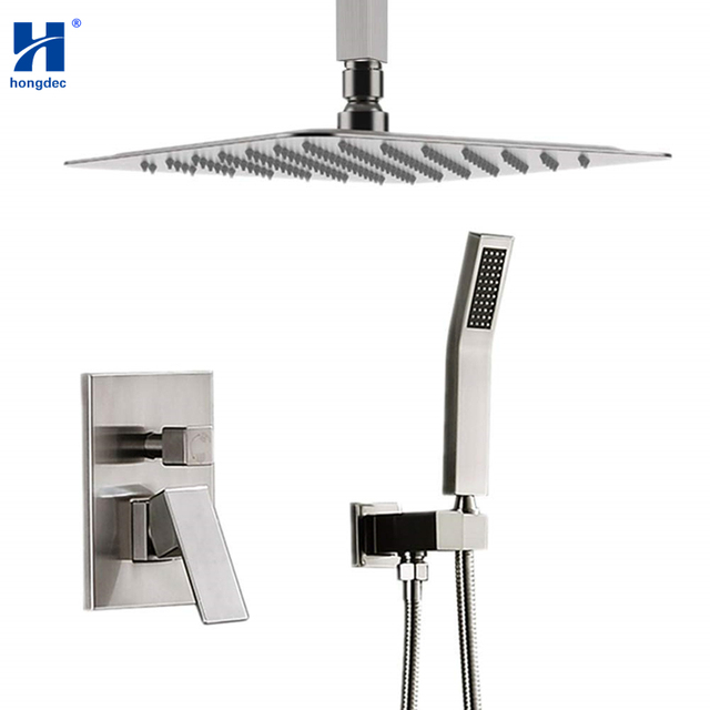 Aliexpresscom Buy Hongdec Luxury Concealed Rainfall Shower System