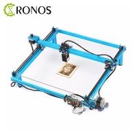Drawing Toys Blue XY Plotter Robot Graffiti Painting Intelligent Programmable High Precision Robot Laser Engraver Graph Plotter