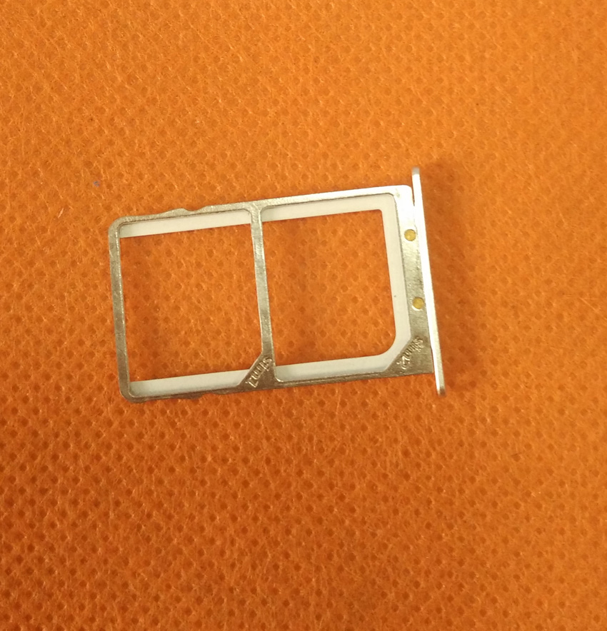 Used Original Sim Card Holder Tray Card Slot for ramos Mos1 max FHD MT6753 Octa Core Free shipping