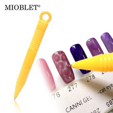 Yellow Cat Eye Magnet Pen Cats Eyes Pencil Gel Polish Varnish Tips Nail Art 3D Magnetic Design DIY Manicure Pedicure Salon Tools