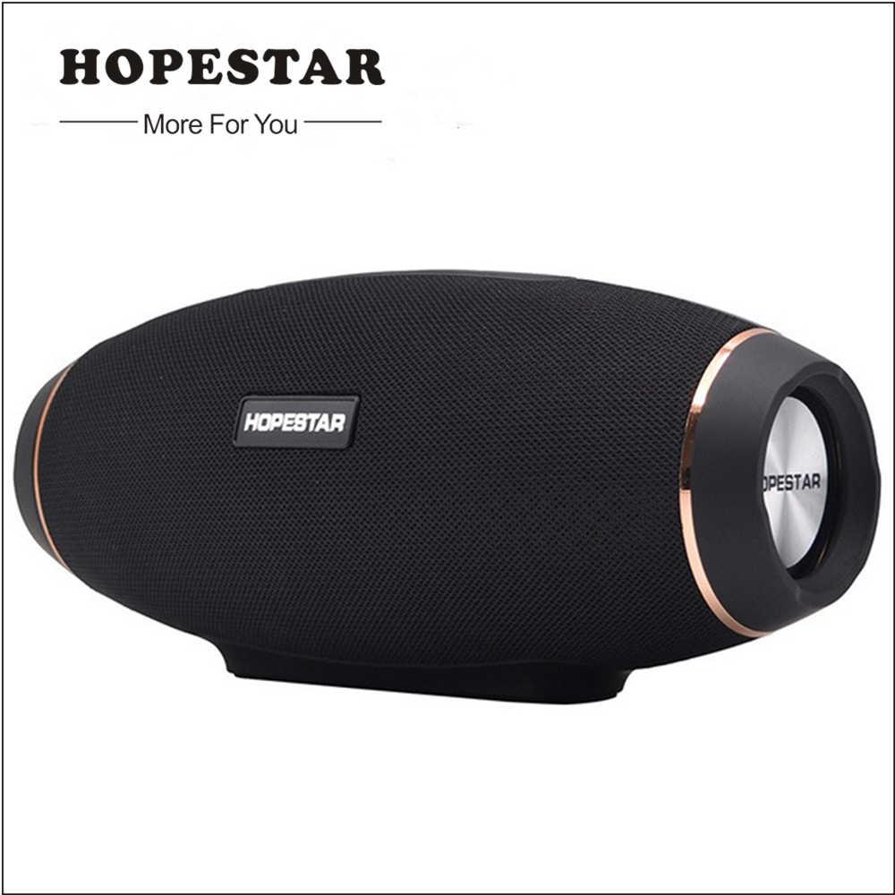 Hopestar IP5 Tahan Air Bluetooth Speaker Speaker Nirkabel Subwoofer Super Bass Stereo MP3 Player BOOMBOX dengan Power Bank