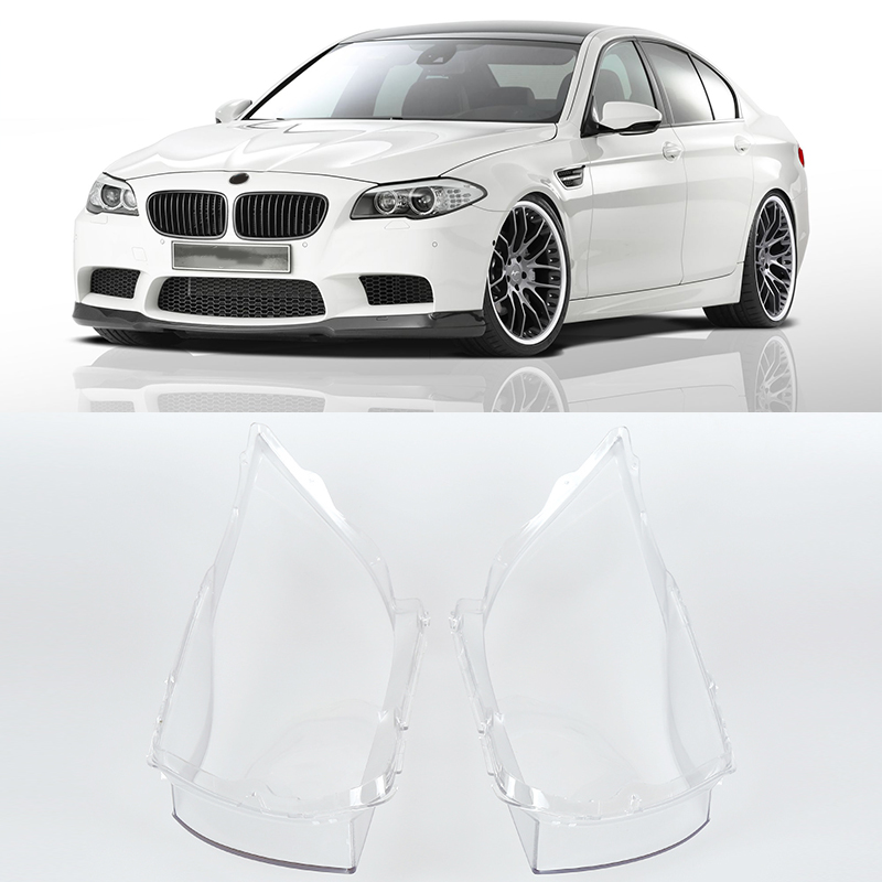2pcs Car Lights Headlight Lens Headlamp Cover Left&Right Transparent Lampshade For BMW E90 2004 2005 2006 2007 high quality yatour car digital music cd changer aux mp3 sd usb adapter 17pin connector for bmw motorrad k1200lt r1200lt 1997 2004 radios
