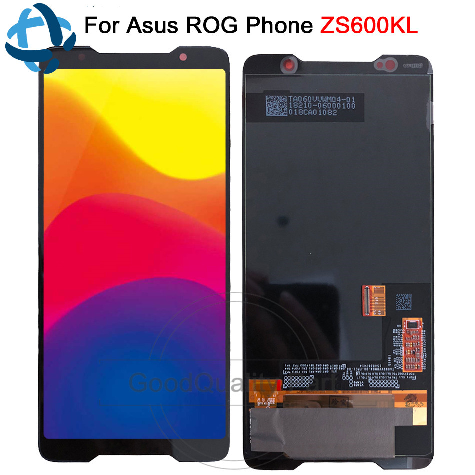 100 tested For 6 0 ASUS ROG Phone ZS600KL LCD AMOLED Display Screen Touch Panel Digitizer