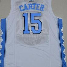de883e291 High Quality #15 Vince Carter north carolina tar heels Retro throwback  Basketball Jersey Embroidery Stitched