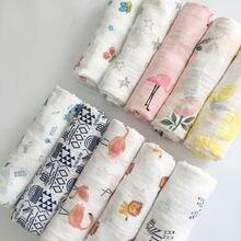 Пеленка для завёртывания для пеленания одеяло для сна банное полотенце