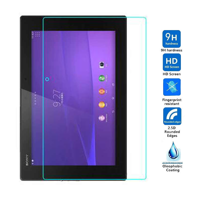 "9H Tempered Glass Screen Protector For Sony Xperia Tablet Z2 SGP541 Z3 Compact Tablet 8.0"" Z4 SGP771 Tablet Protective Film"