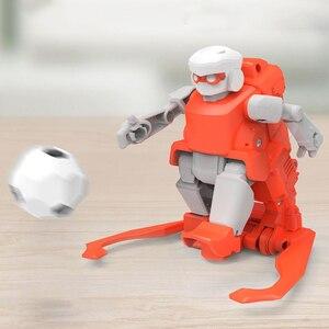 Image 5 - 2019 Nieuwe Xiaomi Mitu Voetbal Robot Builder Diy Kinderspeelgoed Robots Verjaardag Cadeaus Voor Jongens Meisjes Kids World Cup voetbal