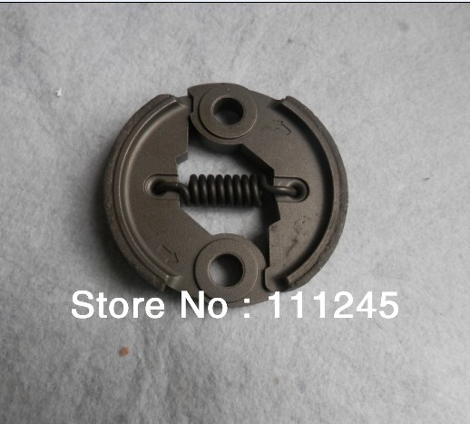 CLUTCH ASSY OD 76MM POWDER METALLURGY FOR HONDA GX31 GX35 MITSUBISHI TL33 TL43 TL52 T180 T200 T240  2 SHOES + 1 SPRING clutch ay od 76mm aluminum for honda gx31 gx35 mitsubishi tb50 free shipping shoe spring repl oem p n 22000 zm5 003