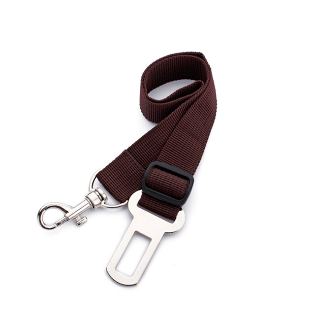 [TAILUP] Dog car seat belt safety protector travel pets accessories dog leash Collar breakaway solid car harness  py0006 4