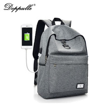 New DOPPULLE Model Exterior Charging USB Operate Laptop computer Backpack Man Nylon Ladies Journey Bag mochilas feminina Ebook Backpack Bag