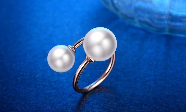 Perla me cilësi të lartë margaritar 925 argjendi të pastër, me - Bizhuteri të bukura - Foto 4