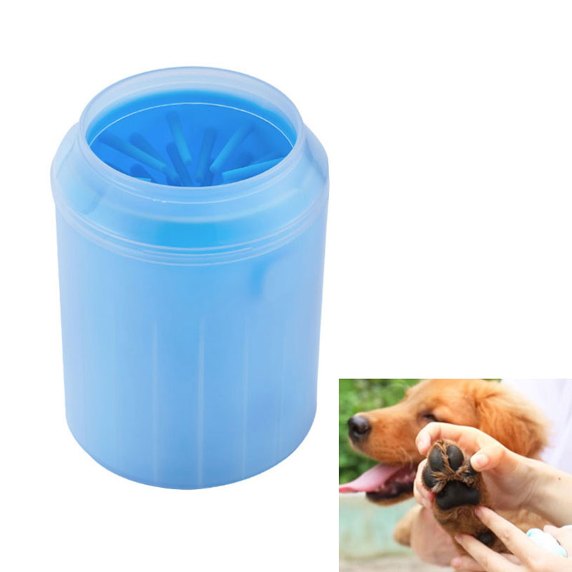 New Portable Pet Foot Wash Cup Dog Silicone Wash Foot Cleaning Artifact Quickly Scrubbing Washing Muddy Dirty Paws And Feet