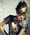 Lencería Sexy Negro Gafas Máscara Establece Club Cosplay Mujeres de la Ropa Interior 2017 de La Muñeca Caliente
