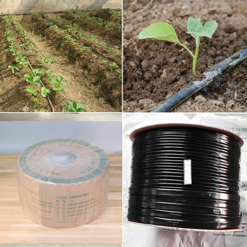 16*0.2mm Thickness 150mm Space Or 300mm Space Trickle Drip Tape Watering Irrigation System Hose Sprinklers Drip Belt 10M/Lot