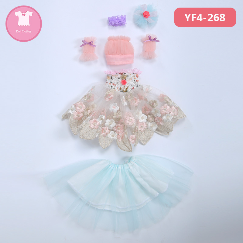 BJD Doll Clothes 1/4 Cute Dress Doll Clothes FL Fairyline For Minifee Girl Body Doll Accessories Fairyland  Luodoll