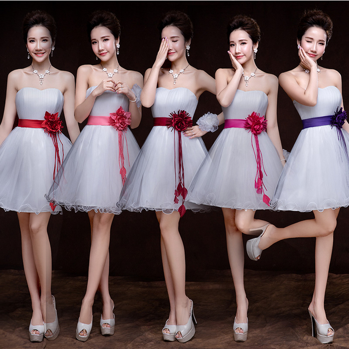 short bubble ivory sweetheart neck design a sweet 16 girl   dress     bridesmaid     dresses   for girls party and wedding