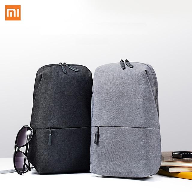 Xiaomi Mi sac à dos 4L Polyester sac loisirs urbains sport poitrine Pack sacs hommes femmes petite taille épaule unisexe sac à dos H34