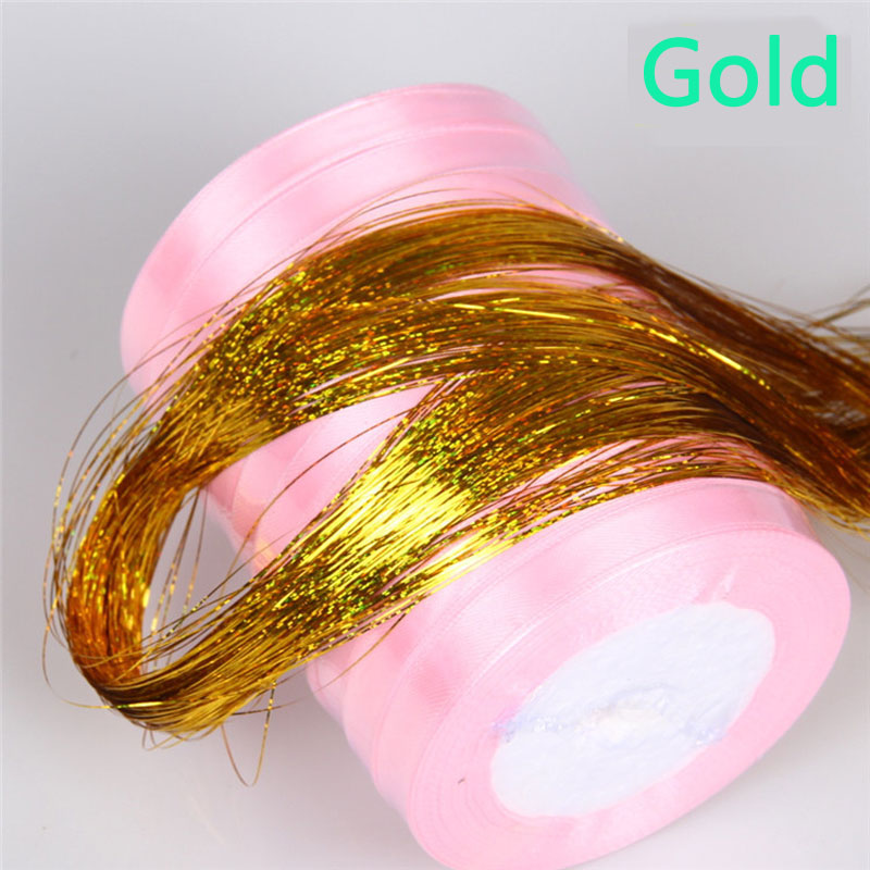Multiple Colour Crystal font b Line b font Holographic Flat Krystal Monster Flash for Fly Tying