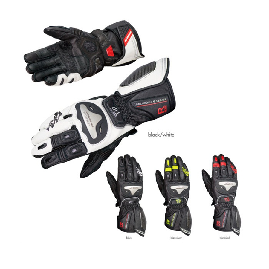 Buy leather motorcycle gloves - Titanium Motorcycle Gloves