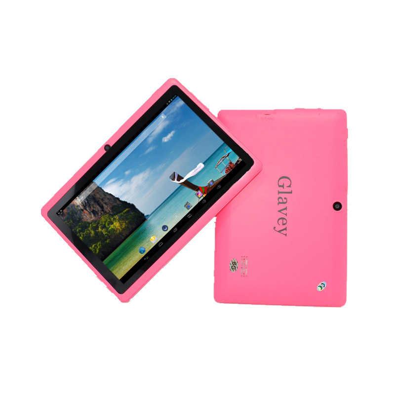 7 インチ子供タブレット PC A33 4 ギガバイトのデュアルカメラタッチスクリーン Google プレイストア子供のためのギフト