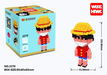 One Piece Lego Building Blocks