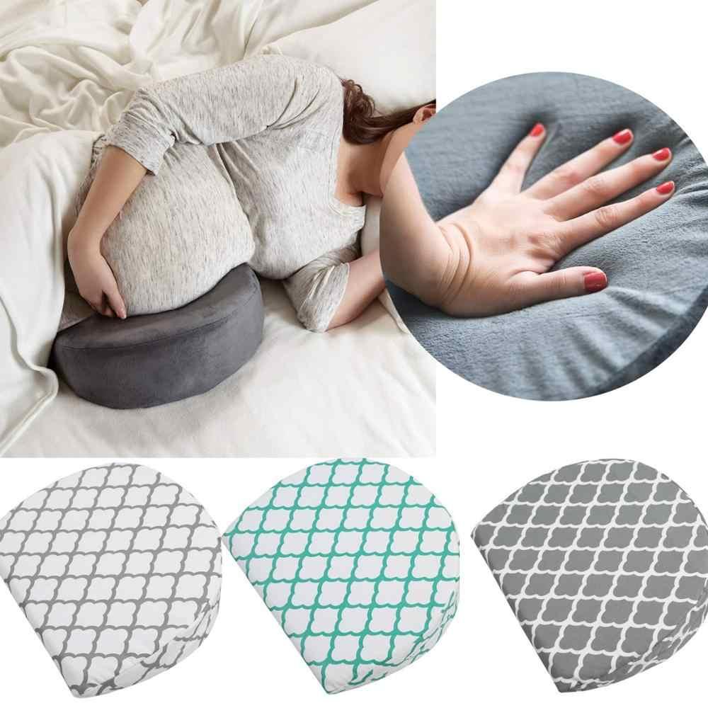 Schwangerschaft Kissen Keil für Mutterschaft Frauen Schwellen Baumwolle Memory Foam Soft Seite Kissen Unterstützung Körper Baby Stillen Kissen