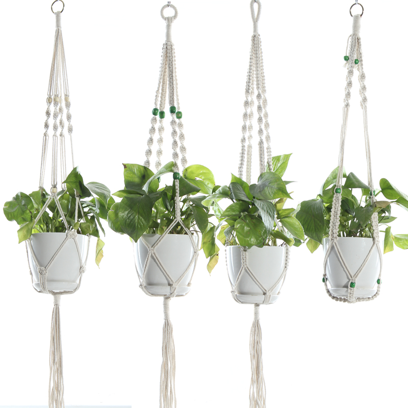 Garden Plant Pot Hanger Hanging Planter Basket Flower Pot Plants Holder Planter