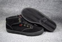 2016 BOY Shoes Black Anti Fur GLOBE MOTLEY MID Hard Wearing Street Footwear Board Shoes US5