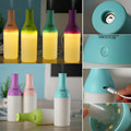 Mini Portable 3 in 1 Cool Bottle Mist Air Aroma Humidifier LED USB Nightlight Lamp Diffuser For moisturizing,relieving fatigue