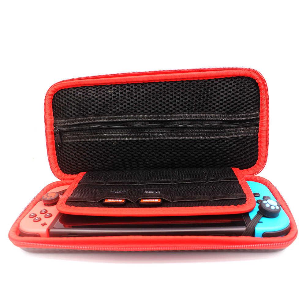 4 in 1 Nintend Switch กระเป๋า Super Slim กระเป๋าสำหรับ Nintend Switch คอนโซลการ์ดเกมสำหรับ nintendo Switch กระเป๋า