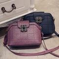 Women crossbody bag 2016 spring and summer brief fashion vintage shell shoulder messenger female bag women handbag pouch purse