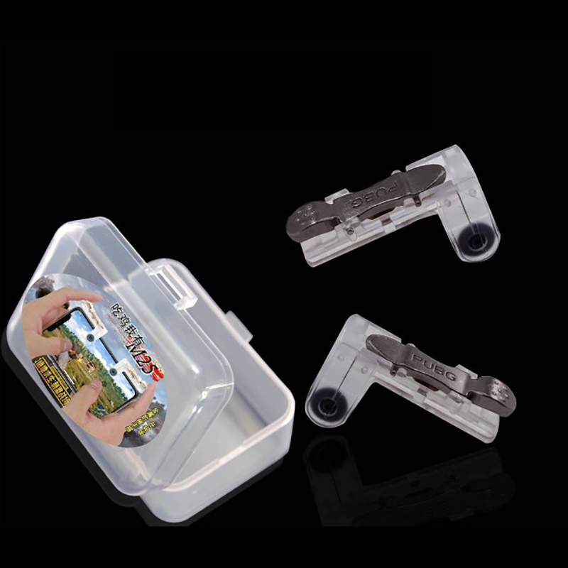 Image 5 - 2PCS PUBG Mobile Gamepad Joystick Mobile Gaming Shooter Fire Button Trigger L1R1 Joystick For iPhone Xiaomi Phone Gaming-in Gamepads from Consumer Electronics