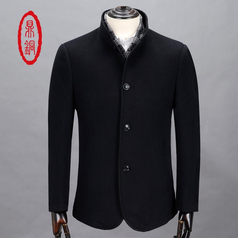 Popular Jacket Wool Cashmere Men-Buy Cheap Jacket Wool Cashmere ...