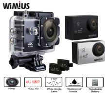 Wimius 2.0 inch 4K 30FPS /1080P 60FPS Full HD Action Camera Sports Camara Mini Video Cam go Waterproof 40M pro Camcorder Car DVR