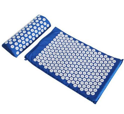 Health Care Body Pain Relief Acupuncture Massager Cushion for Shakti Acupressure Yoga Body Massage Mat acupressure spike yoga pillow mat relief health care shakti massager relaxation neck back pain treatment