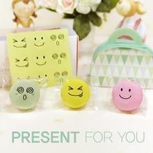 90Pcs/pack Smiley Transparent Self-adhesive Seal Sticker Mutifunction DIY Decorative Gifts