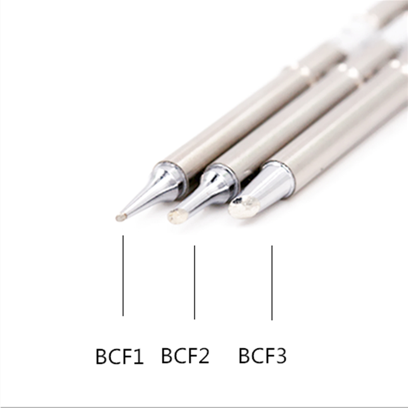 SZBFT T12-BCF1 BCF2 BCF3 soldering iron tip stings for HAKKO 951 952 soldering station soldering station soldering iron tip t12 soldering iron solder tip t12 1405 1406 for hakko