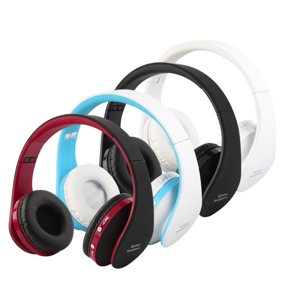 cheap 2016 new foldable wireless bluetooth headset stereo over ear headphone earphone in stock. Black Bedroom Furniture Sets. Home Design Ideas