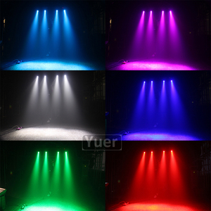 Image 5 - 2Pcs/Lot Pocket Double sided Moving Head Light 15W 4IN1 CREE Lamp 36Pcs 5050 3IN1 SMD Lights For DJ Disco Party KTV Bar Light