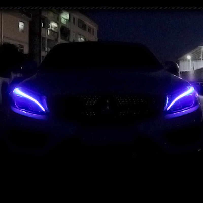 LED Headlight for Mercedes Benz W204 W205 C180 C200 C260 C300 GLC GLC300  DRL lamp unlocked blue 1 Smear One Smear A2059063703
