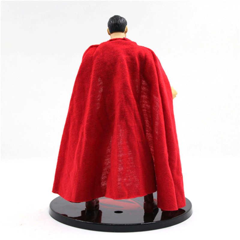 Mezco باتمان v سوبرمان الفجر العدالة سوبرمان 1/12 مقياس pvc عمل الشكل النادرة نموذج لعبة (الملابس الحقيقية) 17 سنتيمتر