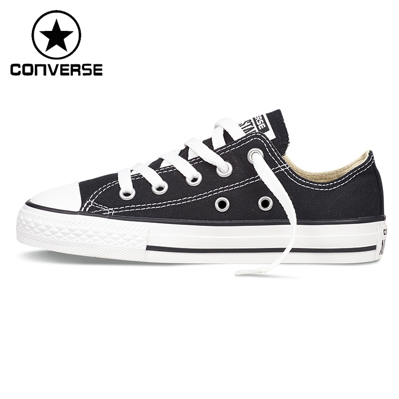 Original New Arrival Converse Classic Kids' Skateboarding Shoes Low top Canvas Shoes Sneakser серьги с топазами и бриллиантами из белого золота valtera 62517