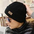 Brand Beanies Knit Men's Winter Hat Caps Skullies Bonnet Winter Hats For Men Women Beanie Fur Warm Baggy Wool Knitted Hat
