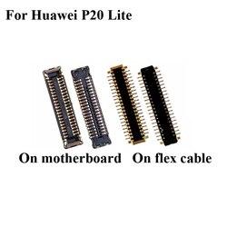 5 sztuk złącze stacji dokującej gniazdo ładowania micro usb FPC złącze dla huawei P20 Lite P 20 Lite logika na płycie głównej płyty głównej P20lite