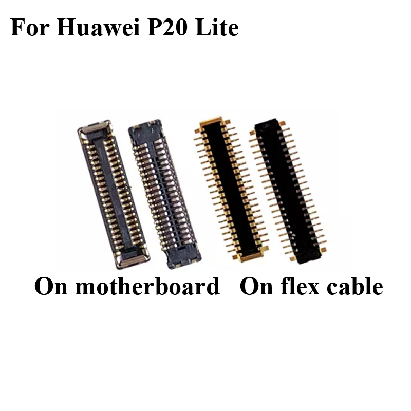 5PCS Dock Connector Micro USB Charging Port FPC Connector For Huawei P20 Lite P 20 Lite Logic On Motherboard Mainboard P20lite
