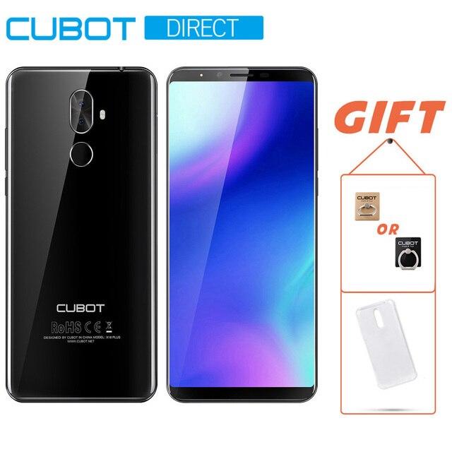"""Cubot X18 плюс Телефон MT6750T Восьмиядерный 4 Гб Оперативная память 64 Гб Встроенная память 5,99 """"18:9 FHD + оригинальный android 8,0 4000 mAh"""
