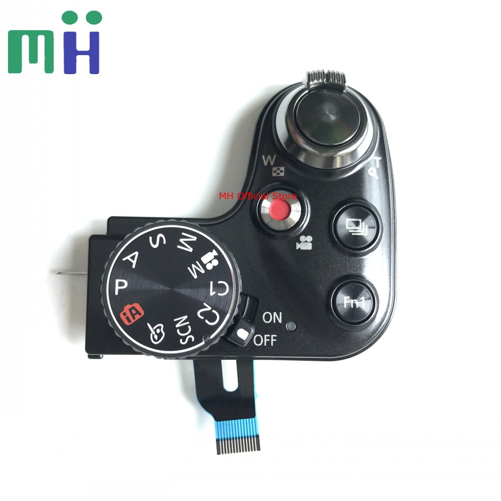 NEW FZ200 LUX4 Power Switch Mode Dial Shutter Release Button For Panasonic DMC FZ200 For Leica